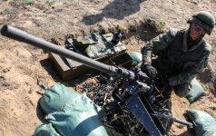 Pratybose susižeidė Lietuvos karys