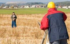 Kada kviestis geodezininkus ir kaip tam pasiruošti