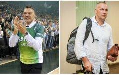 Lažybininkų favoritai į rinktinės trenerio postą – R. Kurtinaitis ir Š. Jasikevičius. Ką manote jūs?