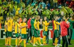 Į Lietuvos futbolo rinktinę mačams su Škotija ir Malta kviečiami 23 žaidėjai