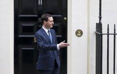 D. Britanijos iždo kancleris: ruoškitės išlaidų mažinimui ir mokesčių didinimui