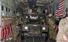 """""""The New York Times"""": JAV Lietuvoje patyliukais dislokavo specialiąsias pajėgas"""