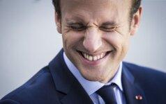 Medaus mėnuo baigėsi: pažadus žarstęs E. Macronas susidūrė su Prancūzijos realybe