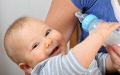 Naudinga informacija tėvams, kurie maitina vaikus mišinukais