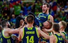 Europos čempionato pusfinalis: Ispanija – Slovėnija