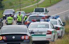 Per ilgai šventusių vairuotojų siaubas: pirmadienį ryte policija surengė reidą