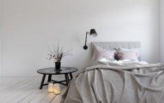10 patarimų, kaip tinkamai išnaudoti nedidelio miegamojo erdvę