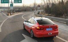 Šiuo metu Baidu bando autonomiškus automobilius BMW pagrindu