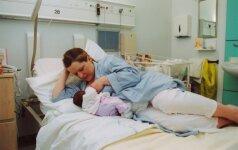 Kauno medikai moko mamas žindyti