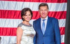 A. Butkevičius su žmona