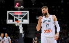 Islandų NBA viltį egzaminavęs J. Valančiūnas pripažino – lietuviai neįvertino varžovų