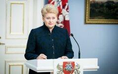 D. Grybauskaitė palankiai įvertino siūlymą mažinti vaistų kainas