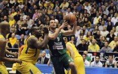 """Eurolyga: 17 taškų Tel Avive pirmavęs """"Žalgiris"""" išleido iš savo rankų ir paskutinį šiaudą"""