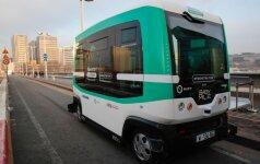 Į Talino gatves išvažiavo autobusai be vairuotojų: kelionė nieko nekainuoja