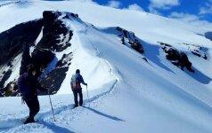 Islandijos kalnai prisijaukino lietuvį