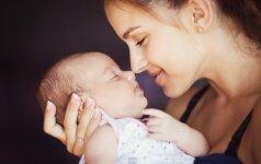 Kaip ugdyti ir bendrauti su vaiku nuo gimimo iki metų