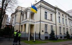 Ukrainos ministras: provokaciją galėjo pakurstyti Rusija