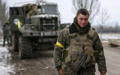 Ukrainos kariniame dalinyje - anarchija ir siaubingos tarnybos sąlygos