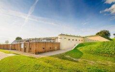 ES parama padėjo modernizuoti ir šiuolaikiniams poreikiams pritaikyti Kauno IX forto puskaponierį, kuris lankytojams duris atvers jau rugpjūčio mėnesį (Sergej Orlov nuotr.)