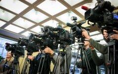 Stebėtojai: žiniasklaidos laisvė dar niekada nebuvo tokiame dideliame pavojuje