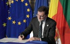 Šalys pasirašo Romos sutartį