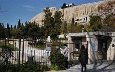 Graikijoje dėl sargų streiko uždaryti Akropolis ir kitos antikinės vietos