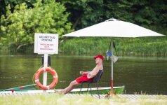 Lietuvoje oficialiai pradedamas maudymosi sezonas