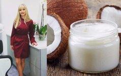 Burnos higienistė apie kokosų aliejų