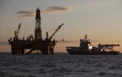 Naftos kainai grasina JAV dolerio vertė