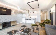 Dviejų studentų 75 kv.m butas: tikras deimantas Vilniaus senamiestyje