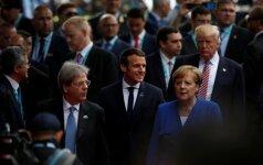 G7 lyderiai konstatavo padidėjusią Šiaurės Korėjos grėsmę