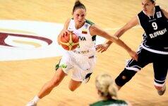 Lietuvos moterų krepšinio rinktinė iškovojo antrą pergalę Europos čempionato atrankoje