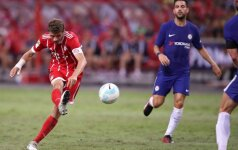 Kontrolinės Čempionų taurės rungtynės Singapūre: Chelsea – Bayern