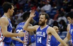 """NBA naktis: """"76ers"""" pagaliau laimėjo, """"Grizzlies"""" fantastiškai palaužė """"Trail Blazers"""""""