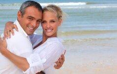 Koks amžiaus skirtumas poroje yra normalu?