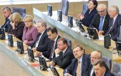 The Government's Hour at the Seimas