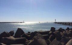 Pietinėje uosto dalyje bus įrengtas laikinasis slipas