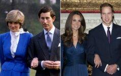 PAMATYK: 7 kartai, kai Kate Middleton pranoko princesę Dianą FOTO