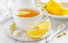 Kodėl peršalus neverta gerti arbatos su citrina?