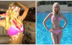 Paris Hilton ir Ingos Stumbrienės rožinio įvaizdžio dvikova (kuriai tinka labiau?)