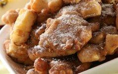 Obuoliai tešloje (desertas per 10 min.)