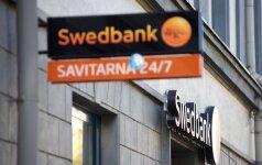 """Lietuvoje """"Swedbank"""" gresia didžiulė bauda"""