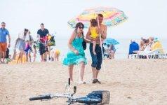 Lietus Palangos paplūdimyje