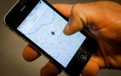 """""""Uber"""" bendradarbiaus su Mokesčių inspekcija"""