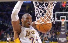 """K. Bryantas patyrė traumą ir praleis NBA """"Visų žvaigždžių"""" rungtynes?"""