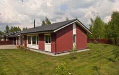 Moduliniai namai: detaliai suplanuojami iš anksto ir surenkami per porą dienų