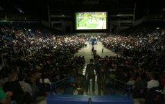 """Krepšinio fanai rinksis į """"Eurobasket 2017"""" rungtynių tiesiogines transliacijas """"Siemens"""" arenoje"""