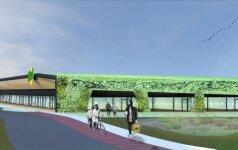 Vilniuje iškils prekybos centras su žaliu stogu