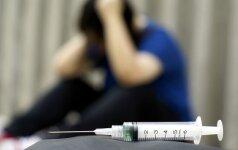 Siūlo neslėpti: kai kurie mokiniai vartoja narkotikus