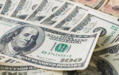 JAV doleris sulaukė investuotojų palaikymo